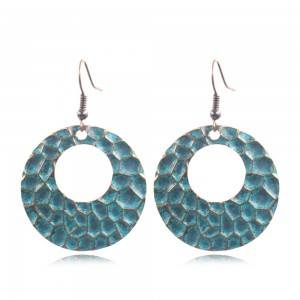 OEM/ODM Manufacturer Tribal Earrings - Bohemian Hammered Earrings Boho Earrings  E160 – Sybon