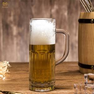 Professional China Beer Glasses For Sale - 365ml Beer Mug – Chengfeng