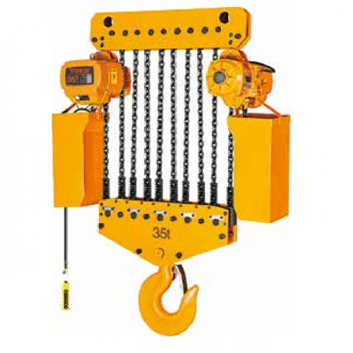 Factory source Electric Wire Rope Hoist 5 Ton - Single Speed type 35t-Stationary – CHENLI