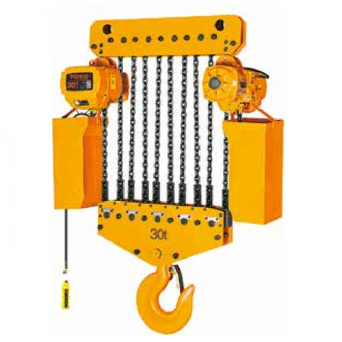 OEM/ODM Factory One Ton Electric Chain Hoist - Single Speed type 30t-Stationary – CHENLI