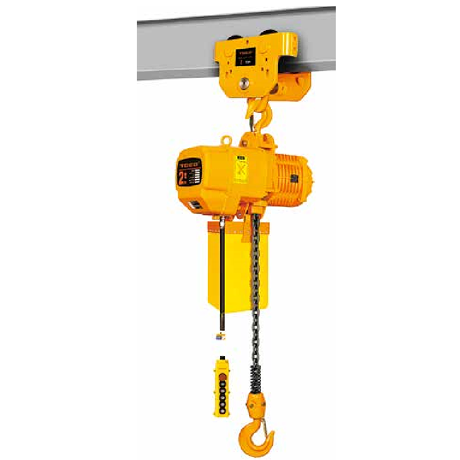Factory wholesale 5 Ton Electric Chain Hoist - Single Speed type 0.5t-5t -Manual trolley running type – CHENLI