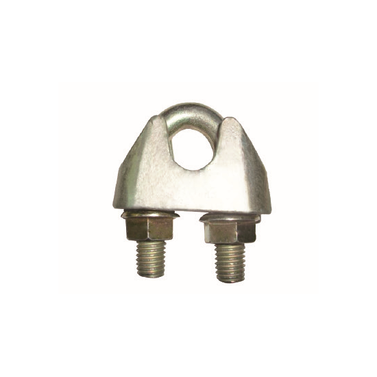 Fixed Competitive Price Thimble Eye Sling - DIN 1142 GALV MALLEABLE WIRE ROPE CLIP – CHENLI
