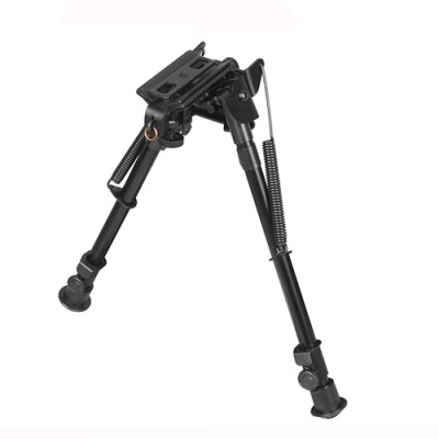 Factory wholesale Qd/Tactical Bipod - 10.23-12.99 Swival  Foldable Alum. Bipod – Chenxi