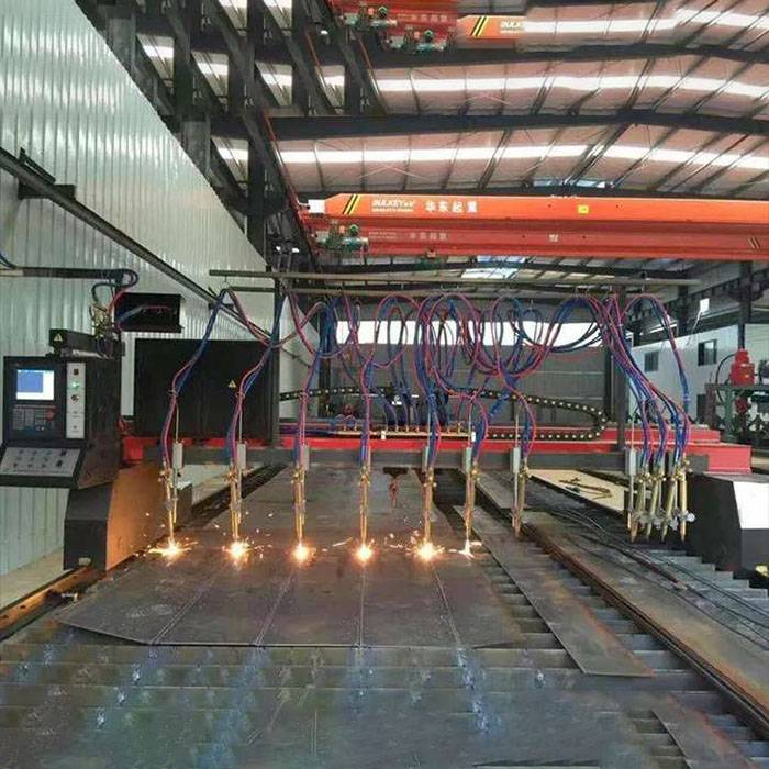 Big Discount Etabs Steel Frame Design - Partial Production Scene of the Factory – Zhenyuan