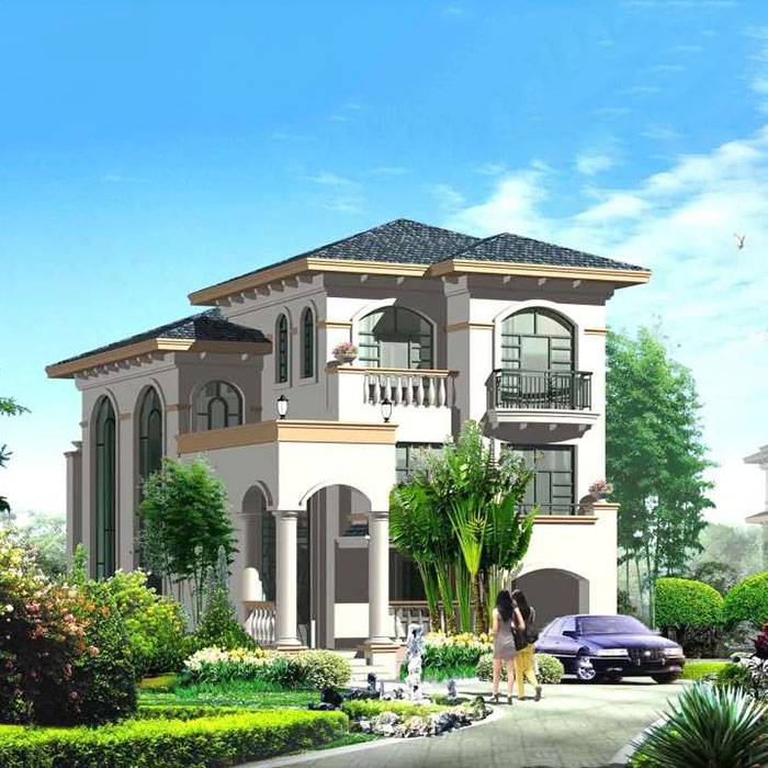 Villa Design Details entrance Featured Image