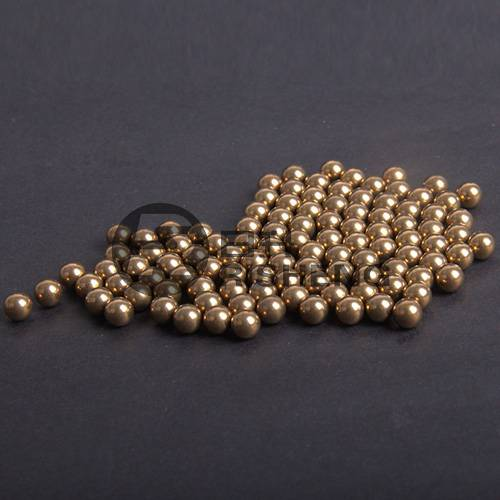 100% Original G200 3.175mm Brass Ball - Good Quality G200 Solid H62 3mm 3.175mm Brass Copper Balls With ISO9001 – Sunrise