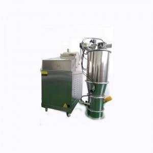 Vacuum powder suction machine