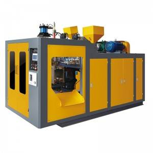 Full Automatic Double Station Extrusion Blow Molding Machine