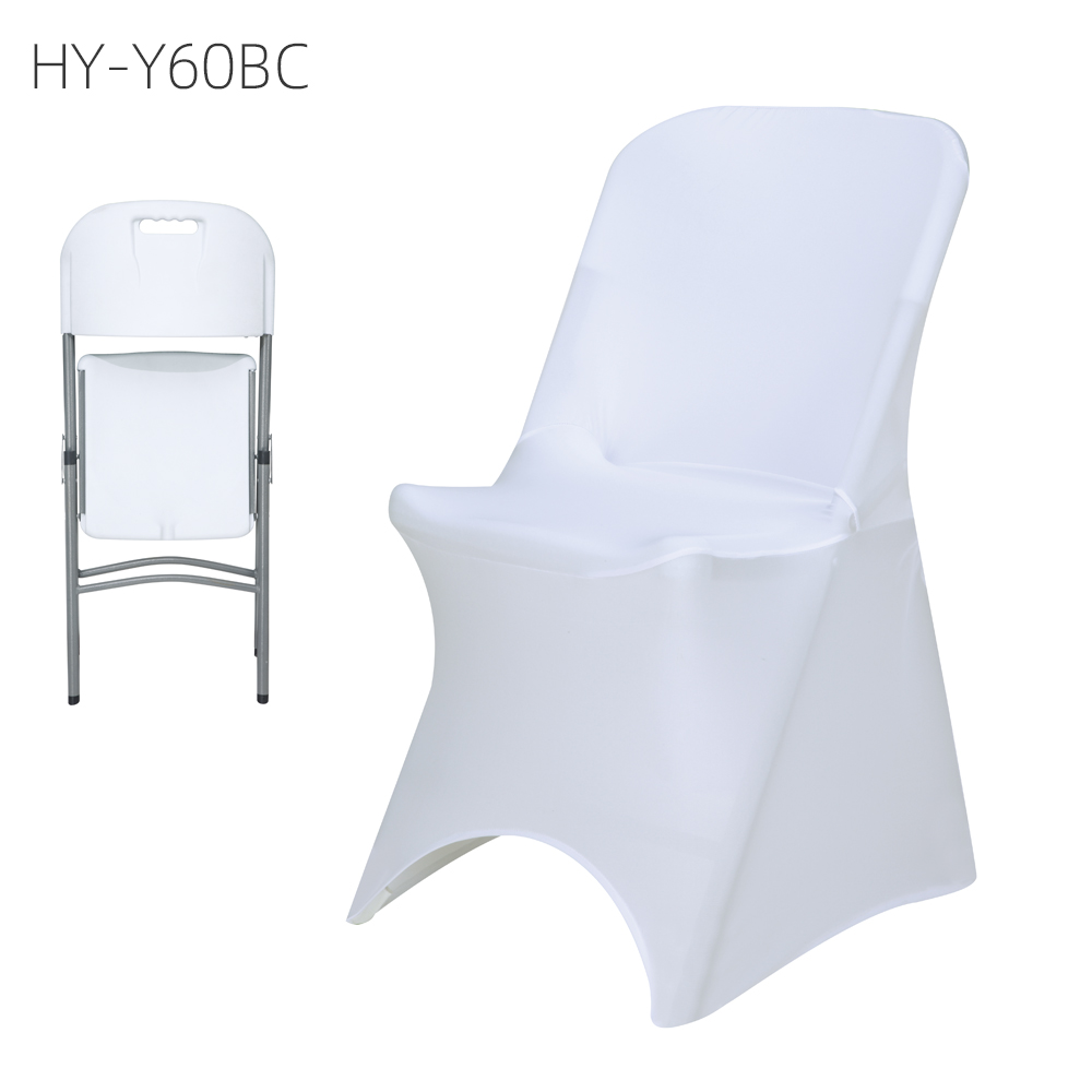 wholesaler spandex chair covers for wedding use rosette chair cover ruffle chair cover