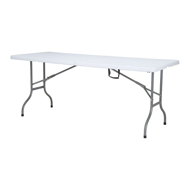 China Wholesale Folding Catering Table Manufacturers - Hot Sale 6ft HDPE Portable Folding Table Hinges HY-Z183D – JIANYE