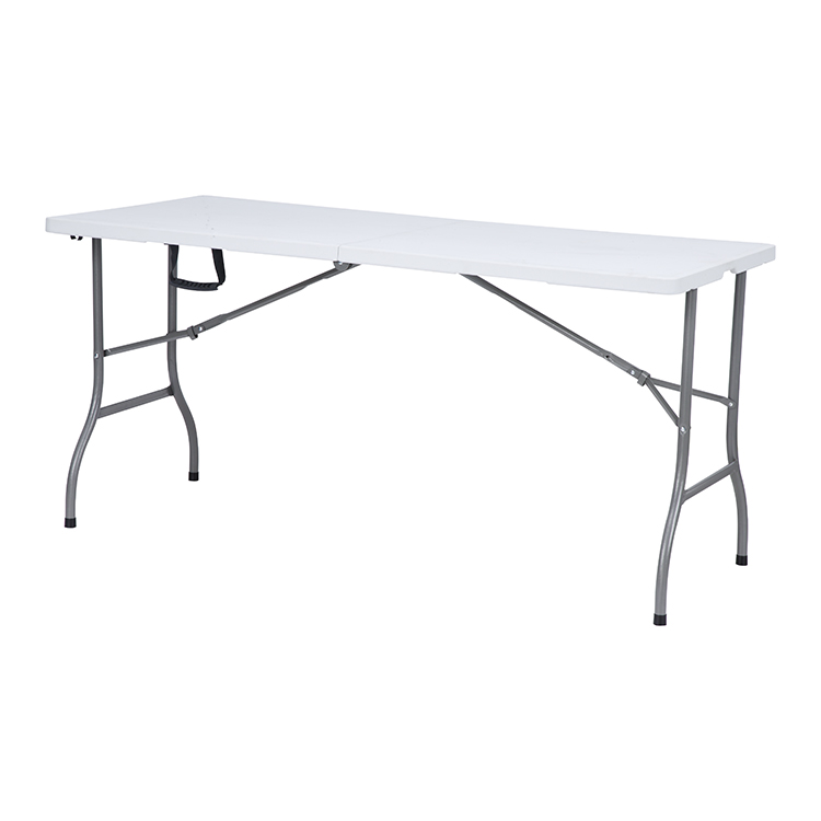 China Wholesale Blow Moulding Plastic Folding Table Factory - Hot sale custom kids study folded meeting plastic folding bench dinning tables foldable – JIANYE Featured Image