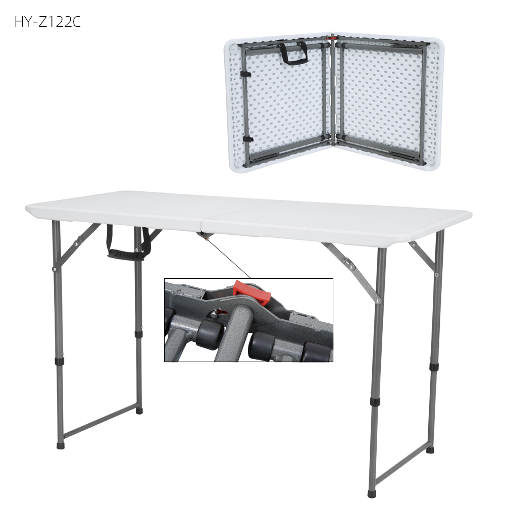 China Wholesale 8 Foot Folding Table Products - custom 4ft outdoor portable plastic picnic folding meeting tables and chairs set – JIANYE