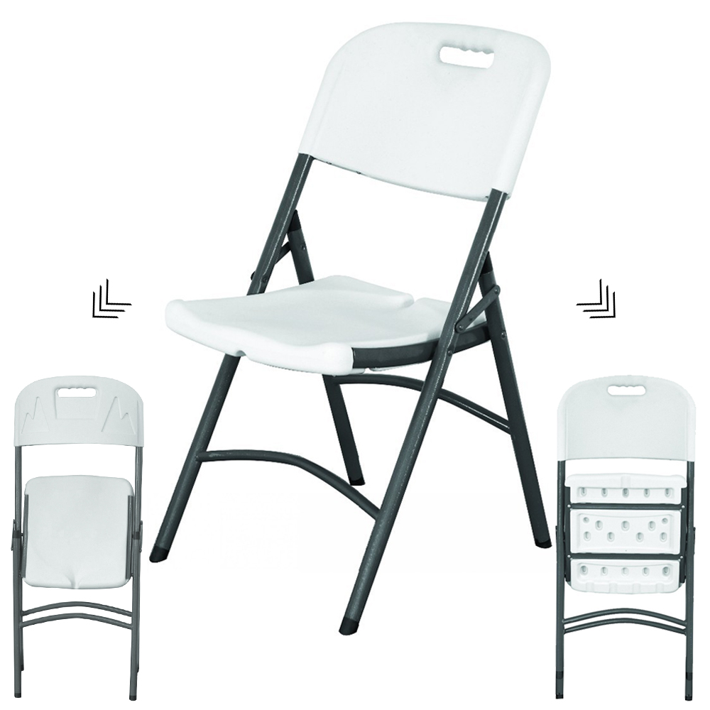 China Wholesale Garden Folding Chair Factories - good quality cheap metal wholesale Plastic used picnic white outdoor dining  wedding foldingchairs – JIANYE