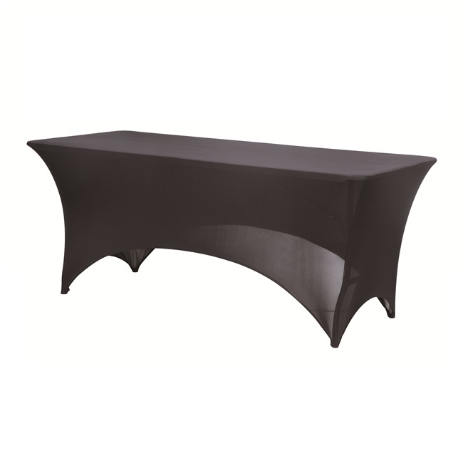 spandex table cover for wedding or banquet use