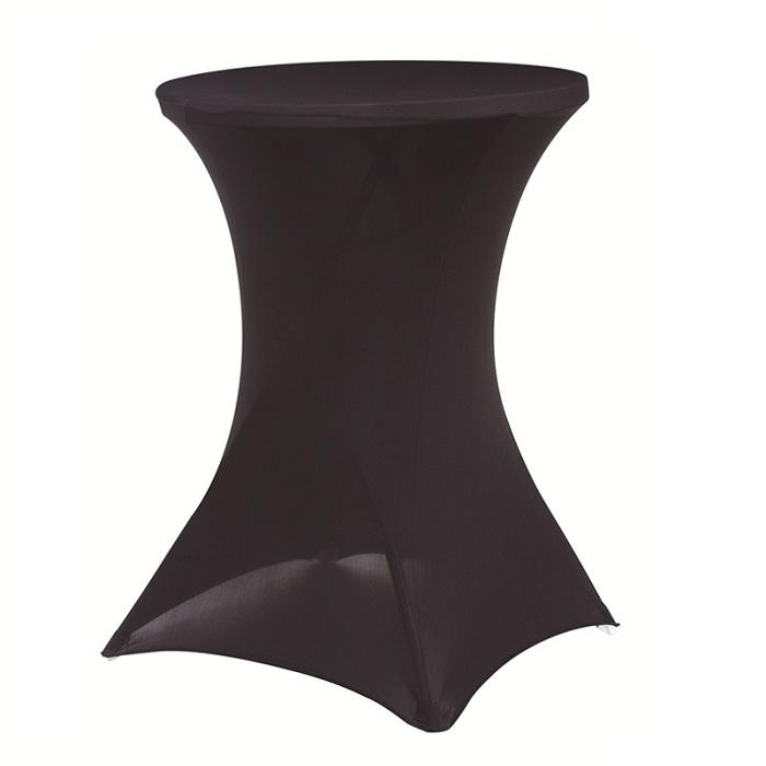 Wholesale black or white spandex cocktail table...