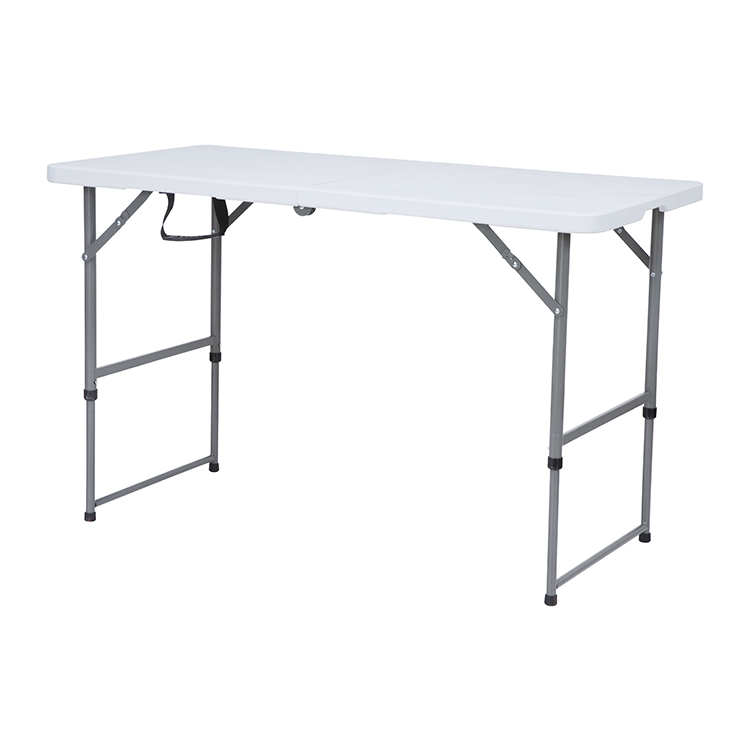 China Wholesale Wooden Folding Table Manufacturers - Heavy Duty Blow Molded plastic foldable table four person – JIANYE