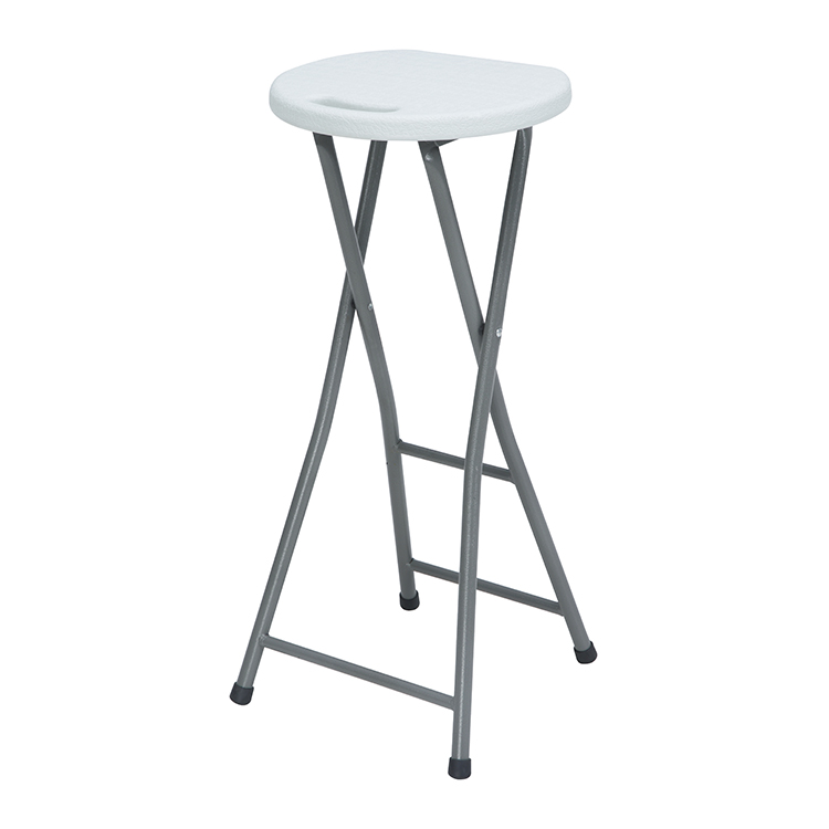 Folding stool - Wholesale HDPE Plastic Round Travel Folding Stool – JIANYE