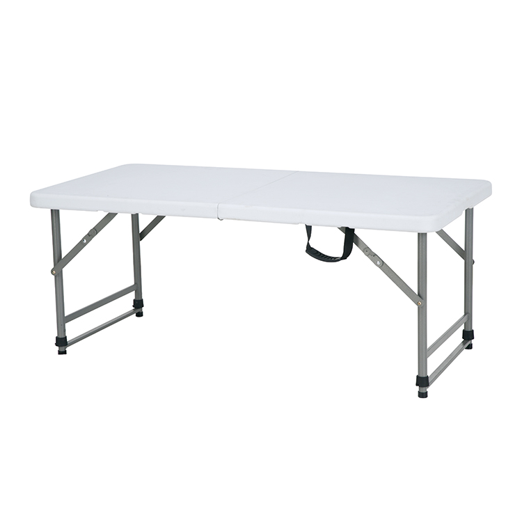 China Wholesale Folding Pub Table Factories - custom adjustable height outdoor 4ft plastic conference foldable training picnic coffee table legs with chairs – JIANYE