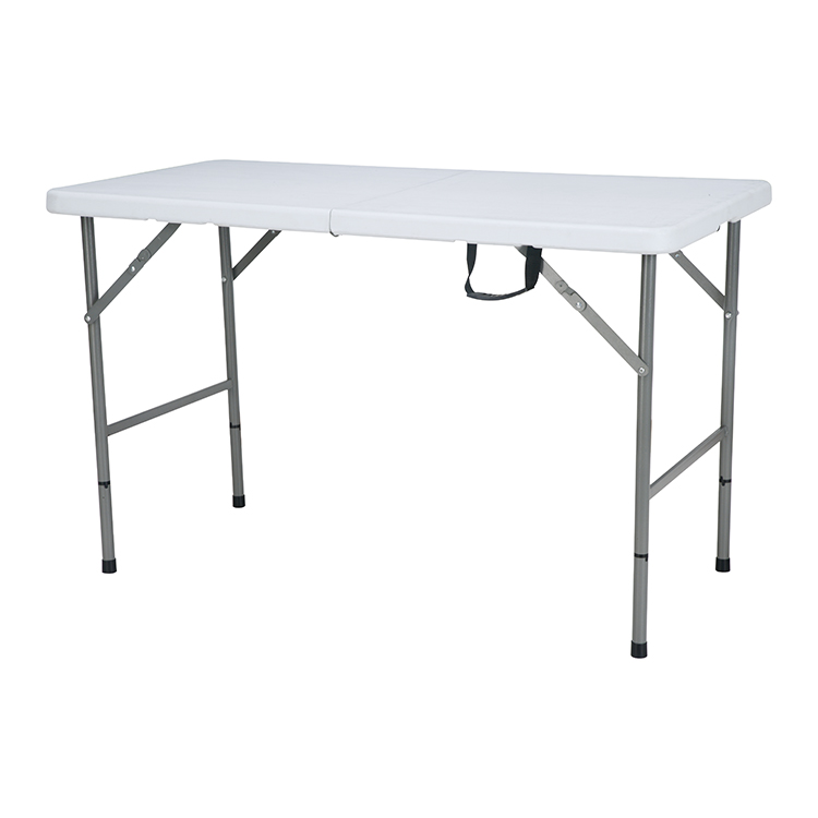 China Wholesale Blow Moulding Plastic Folding Table Factories - custom wholesale 6ft 4ft white plastic portable camping folding coffee dinning table manufacturers – JIANYE