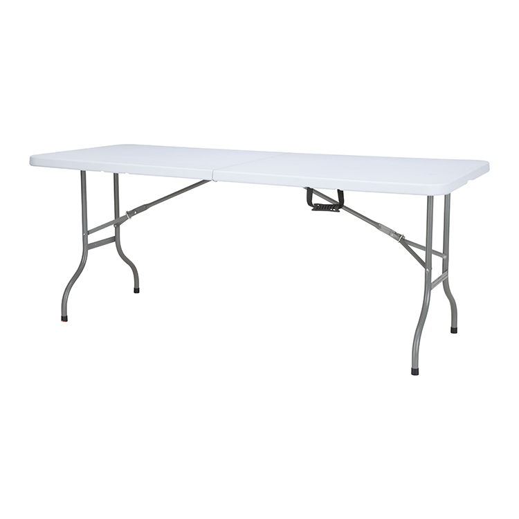 China Wholesale Plastic Folding Table And Chairs Quotes - 6ft plastic folding buffet picnic table – JIANYE