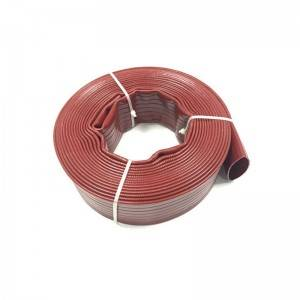 Factory Supply High Pressure Irrigation Hose - Heavy Duty PVC Layflat  Hose 10 Bar – Sinopulse