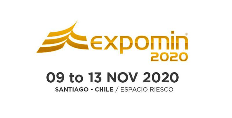 EXPOMIN 2020 SANTIAGO CHILE will be held at 09-13, NOV 2020