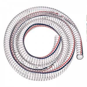 China Cheap price Hydraulic Fitting - PVC Steel Wire Hose – Sinopulse