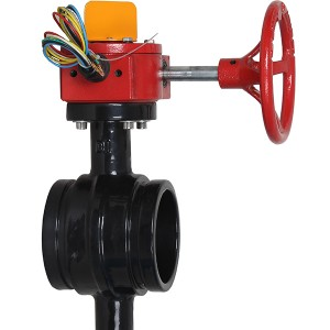Manufacturer for Bray Type Butterfly Valve - Grooved End Butterfly Valve – Hongbang