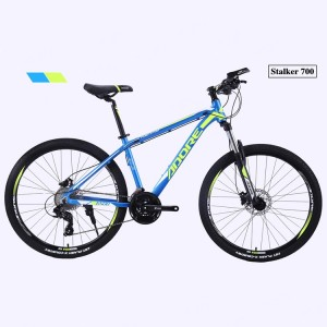 China Factory for Heavy Bike - PDS700 27.5 Inch Factory Price Suspension Fork Alloy Aluminum Frame 27gears Mountain Bike for Sale – Panda