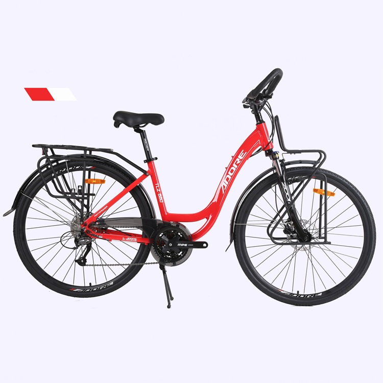 PDC660 Urban commuting aluminum alloy bicycle city bicycles China manufacturer Featured Image