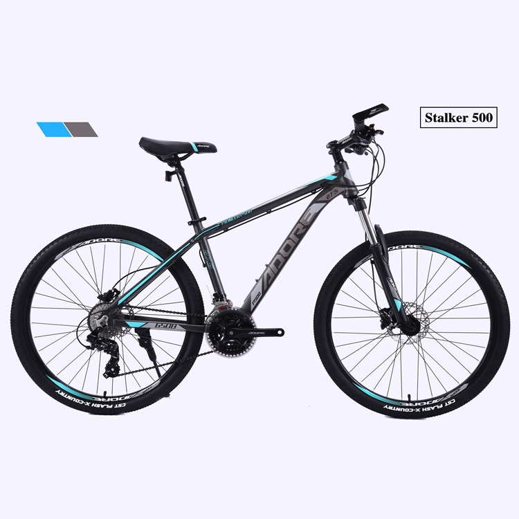 PDS500 27.5 Inch 24 Speed Alloy Disc Brake Mountain Bicycle 2.4 tire MTB Featured Image