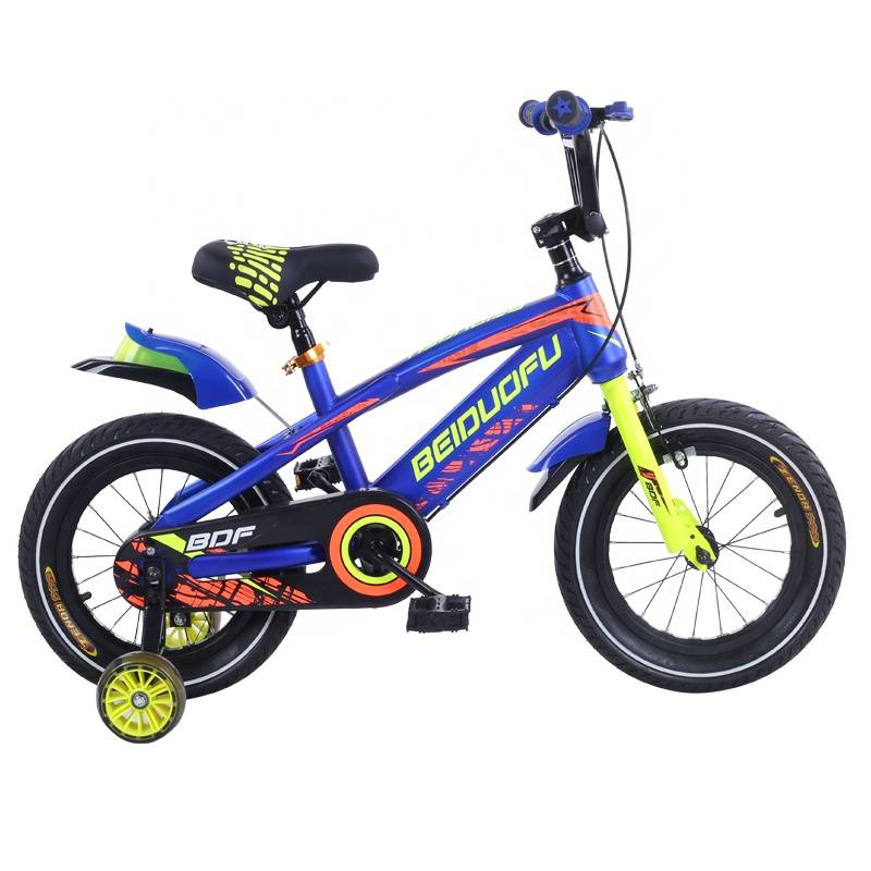 PD98K 12 14 16 18 inch kid Bicycle with training wheel Featured Image