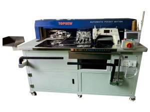 Fully Automatic Free Iron Light and Medium heavy  Pocket Setting Machine  TS-199-7300A