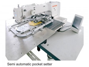 Semi Automatic Pocket Setting Machine TS-3020P