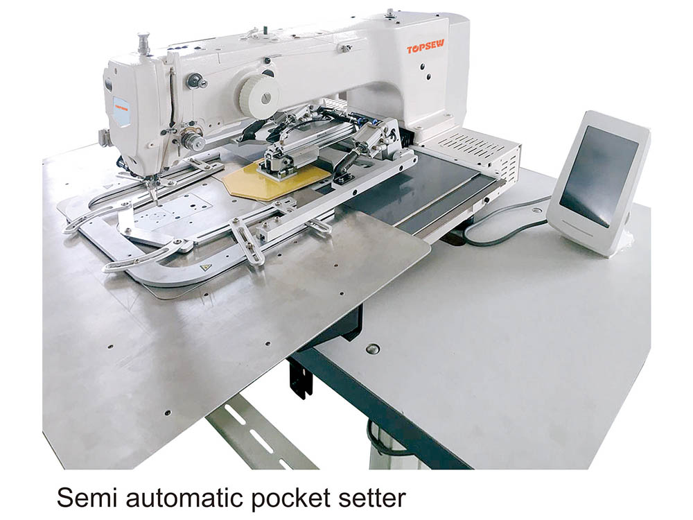 Semi Automatic Pocket Setting Machine TS-3020P Featured Image