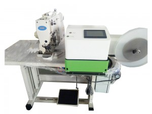 Automatic Velcro Cutting And Attaching Machine TS-2210-VC/430D-VC