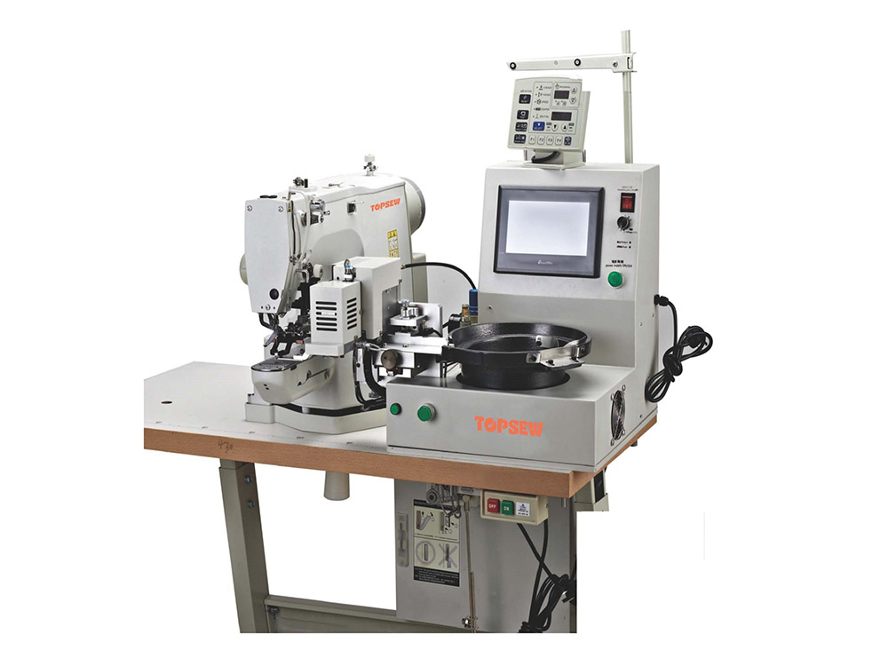 Automatic Button Feeding And Attaching Machine TS-438D-SK Featured Image