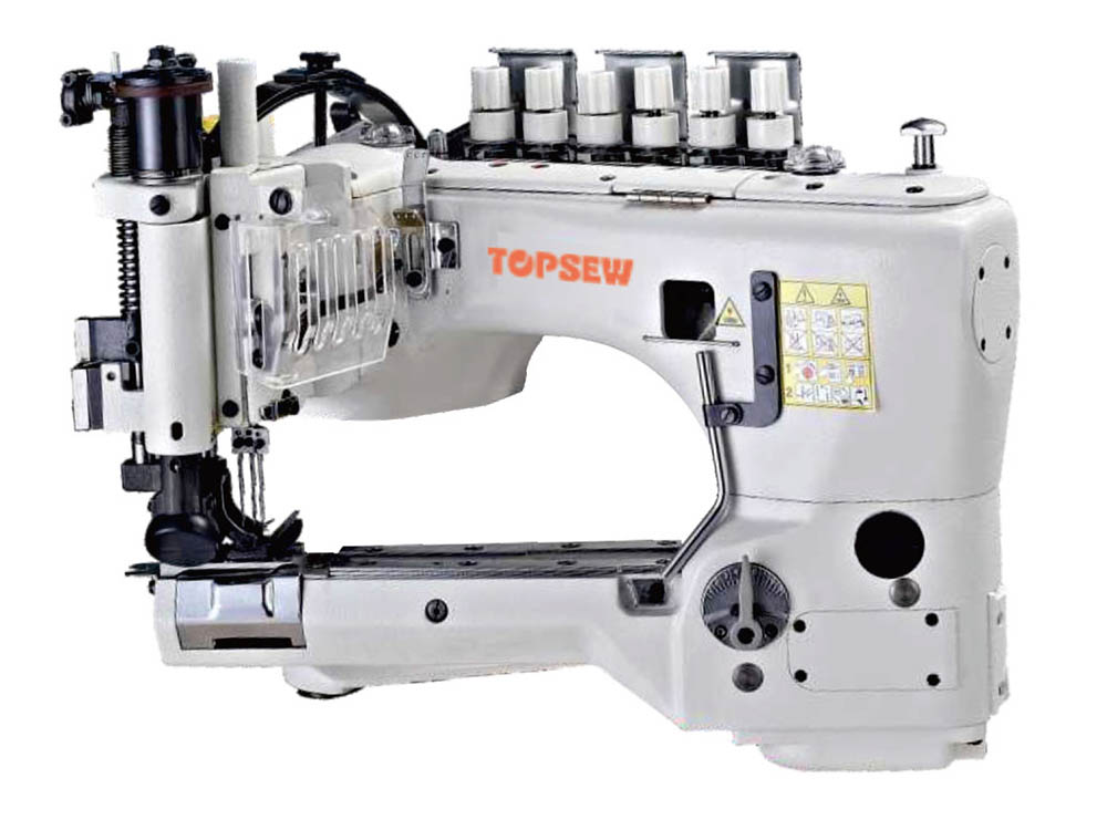 Original Factory Jeans Pocket Folding And Ironing Machine - High speed feed off-the arm Chainstitch machine TS-35800 – TOPSEW Featured Image