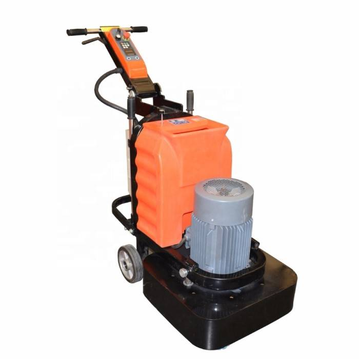 NEW 12 heads small stone floor grinding machine concrete grinder Featured Image
