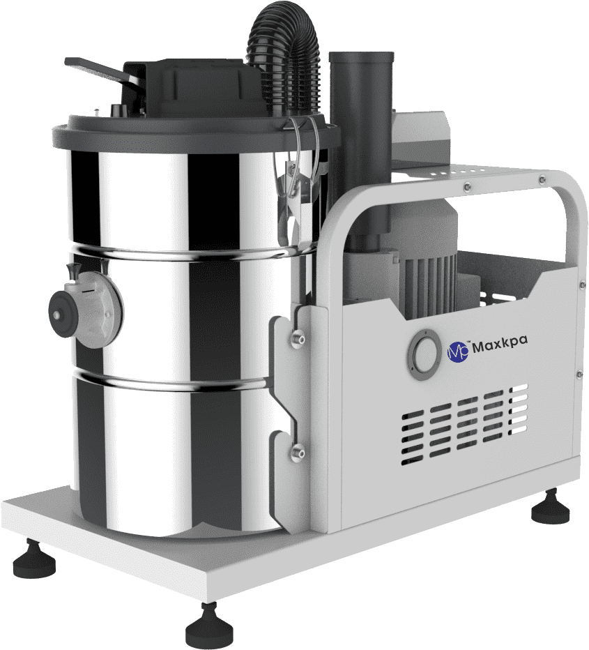 Three phase stationary type industrial vacuum cleaner Featured Image