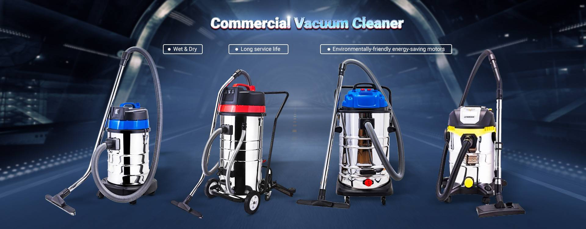 Carpet and floor vacuum