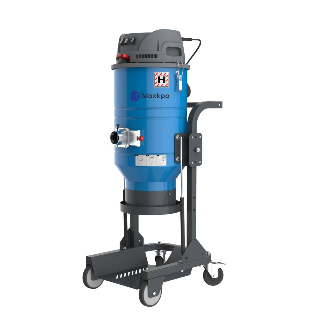 Three phase dust extractor intergrated with pre separator Featured Image