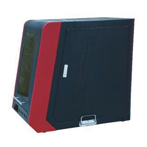 3W Air Cooling UV Laser Marking Machine Colored Delrin