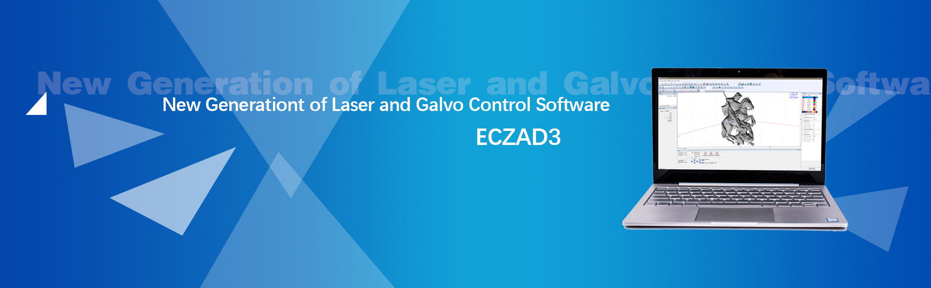 EZCAD3 New generation laser marking software for 2D and 3D.