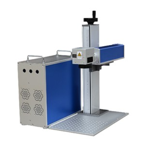 Small Size Fiber Laser Marking Machine Diallyl Phthalate