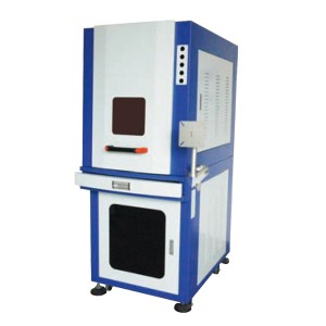 Water Cooled 5W UV Laser Marking Machine PE