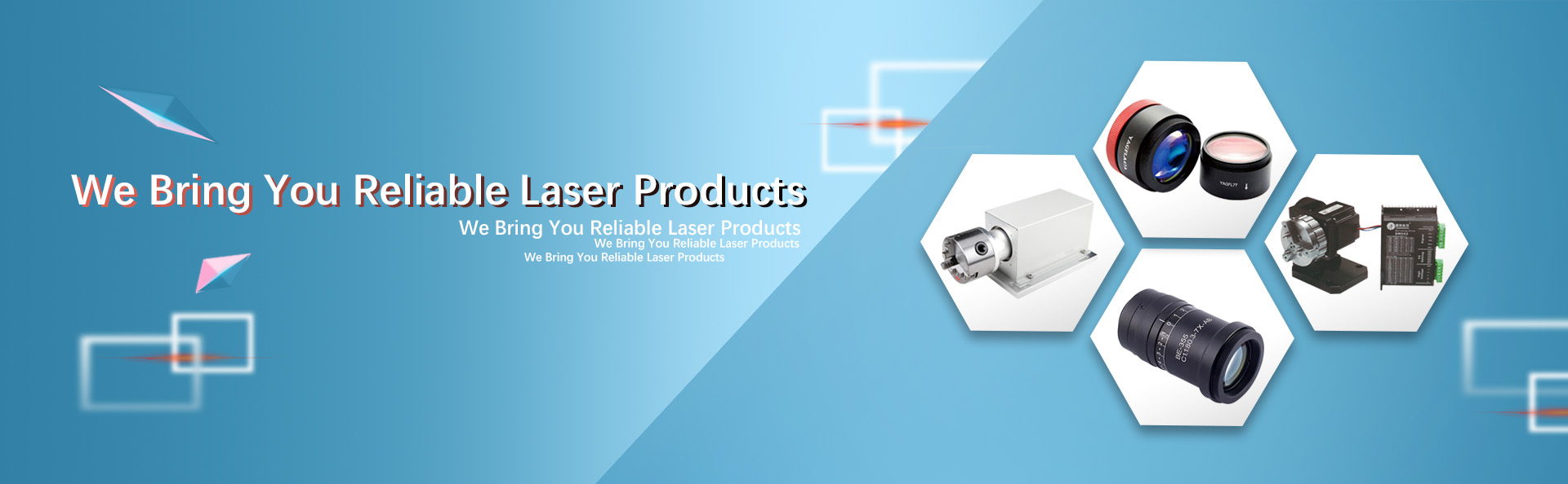 Parts for laser machines with premium quality and performance.