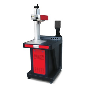 Raycus Fiber Laser Marking Machine Cobalt Chrome Steel