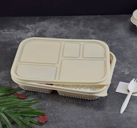 High Quality for Biodegradable Takeaway Containers -  Disposable Biodegradable Corn Starch Food Containers – CHUNKAI detail pictures