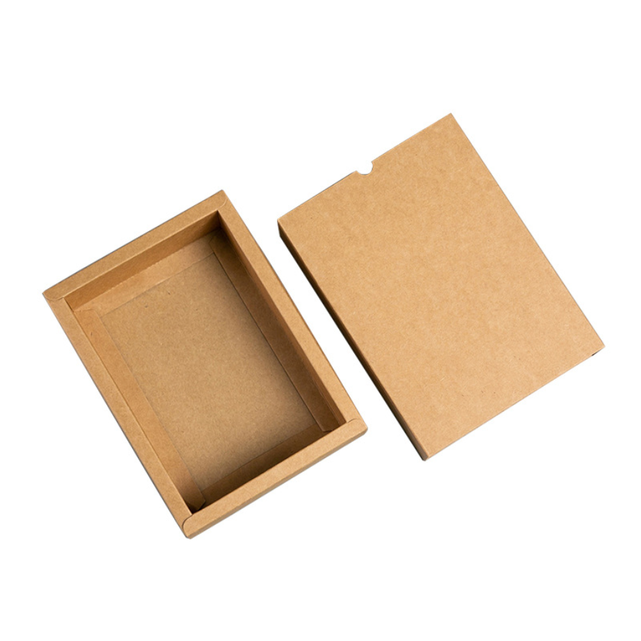 Ordinary Discount Custom Fast Food Packaging Paper Boxes - Brown Kraft Paper Box Factory – CHUNKAI